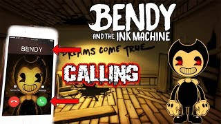 (HE CAME TO MY HOUSE?!) CALLING BENDY ON FACETIME AT 3 AM | HE CALLED ME BACK