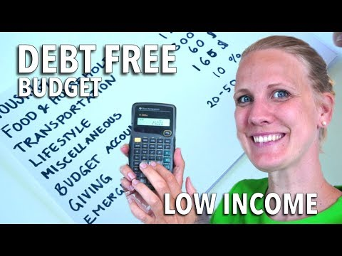 How to Pay off Debt on a Low Income | Low Budget