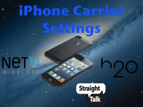 How to add Carrier Settings to iPhone 5, 4, and 3Gs on iOS 6.0/6.0.1