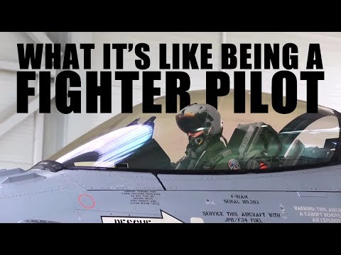 What's it like being a Fighter Pilot?