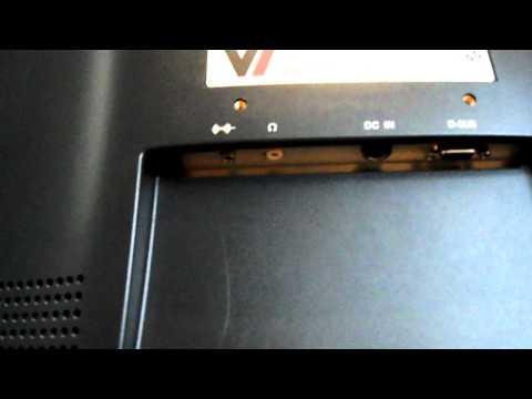 V7 Flat Screen TFT Computer Monitor.