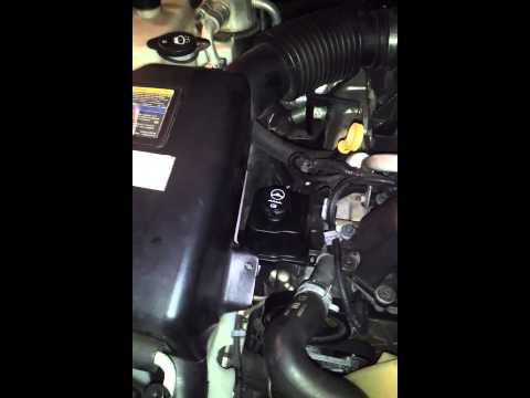 Power steering fluid change