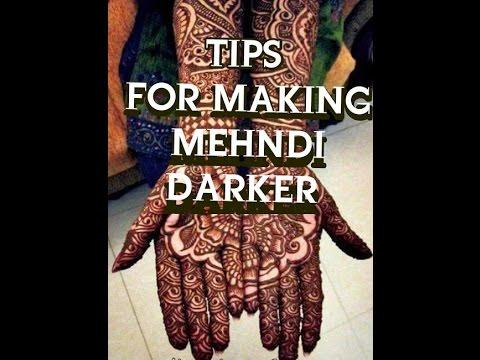 how to make your mehndi more darker||tips||hindi