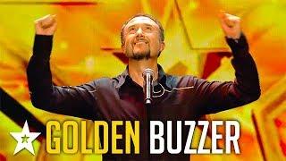 OPERA SINGER Raul Gets GOLDEN BUZZER on Spain