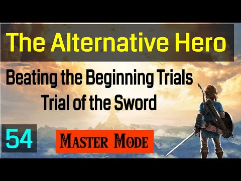 Beating The Beginning Trials - The Trial of the Sword - Master Mode - 054