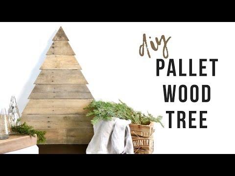 DIY Pallet Wood Christmas Tree | Rustic Tree