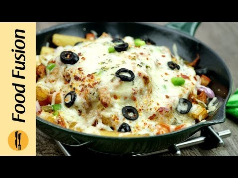 Pizza Fries Recipe By Food Fusion
