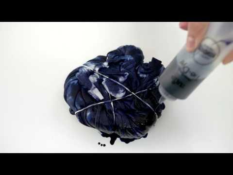 Shibori Twist Tie Dye Technique