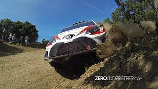 WRC Rally Italia Sardegna 2017 | High-Speed-Gravel-Action, Jumps & Drifts