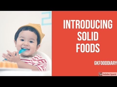 How to introduce solid food to your Baby?