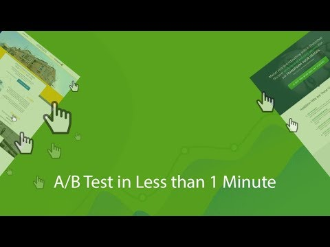 How to A/B Test a Landing Page in Under 1 Minute (WordPress)
