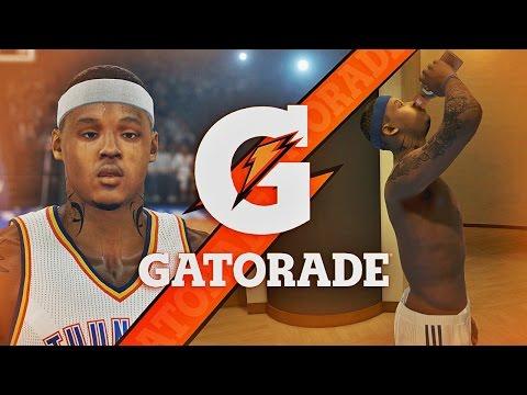 NBA 2K15 MyCAREER - Debut Game With OKC | Gatorade Endorsement & Commercial