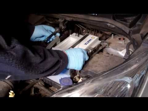 Replacing your car battery - Ford Fiesta 1.4TDCi Mk7 (2008 onwards)