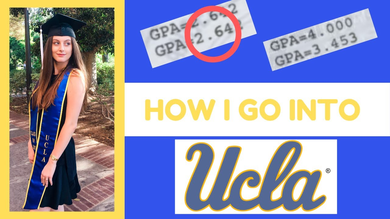 HOW I GOT INTO UCLA & Every University I Applied To | 2.6 GPA *transcripts included*
