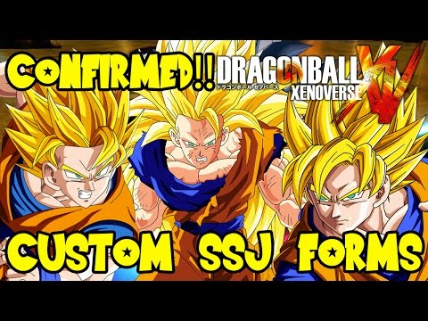 Dragon Ball Xenoverse: Custom Character SSJ, SSJ2, & SSJ3 Forms Confirmed & More!