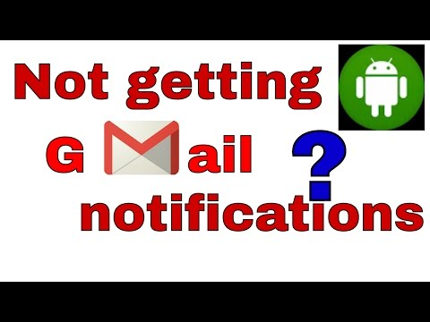 Gmail notifications fixed