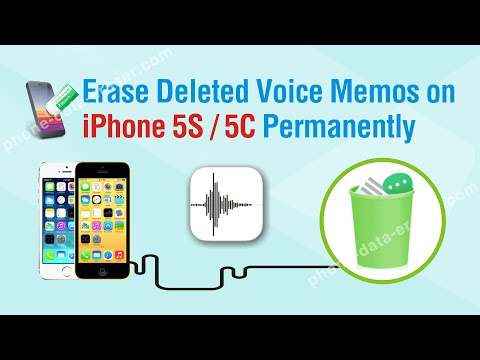 How to Easily Erase Deleted Voice Memos on iPhone 5S / 5C Permanently