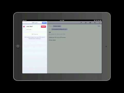 Setting Up VIP On An iOS Device