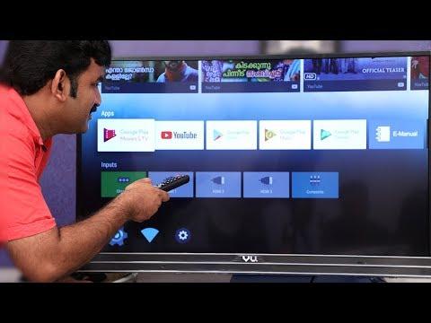 vu 4k android tv Malayalam Reviews