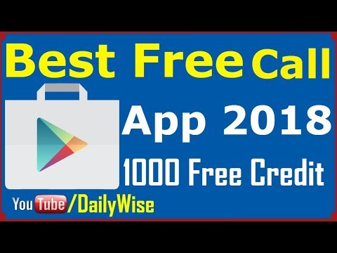 Best Free Calling App For Android 2018 - Free Calling New App 2018 - 1000 Free Credit In Urdu/Hindi