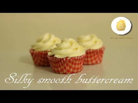Silky smooth buttercream recipe and tutorial