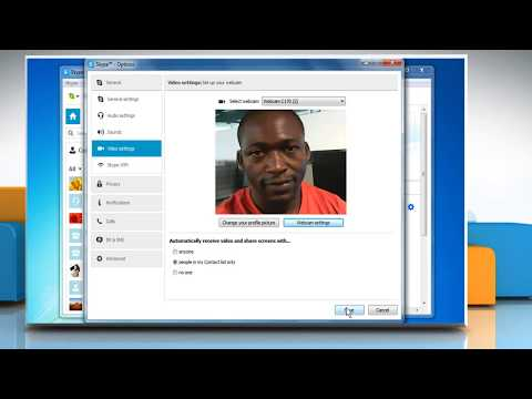 How to check if webcam is working correctly or not in Skype® for Windows®