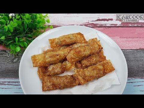 香脆 炸五香条 (Minced Pork Mini Rolls)