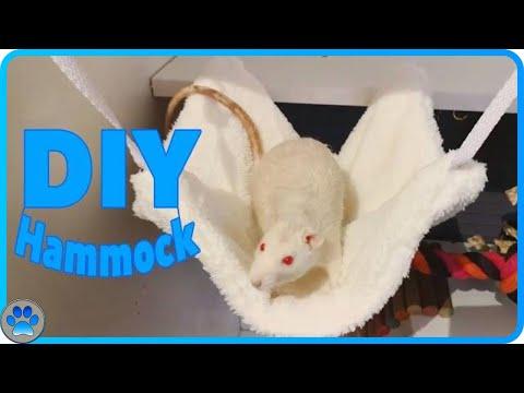 D.I.Y Small Pet Hammock (NO SEWING)