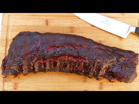 How to Smoke Ribs in a Weber Kettle   TruBBQtv