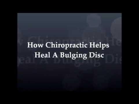 How chiropractic  help  heal a bulging disc