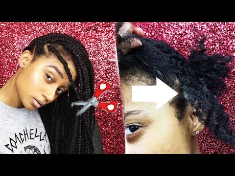 How To Take Down Box Braids Fast & Remove Build Up