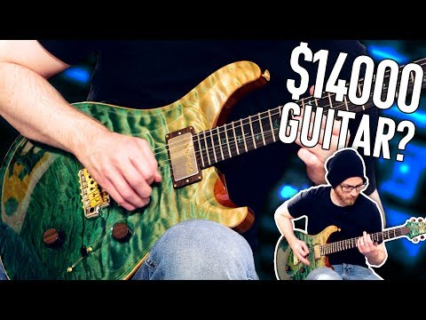 Playing A $14000 Guitar!   Pete Cottrell