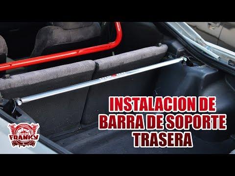 Mitsubishi 3g eclipse - Instalacion Barra de Soporte Trasera - Rear Strut Bar