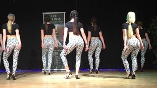 Beautiful Swedish girls dancing Kizomba Salsa