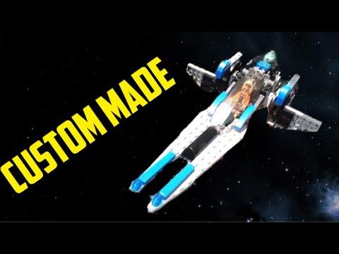 Lego Star Wars custom build = Rebel Ship