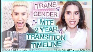 transgender mtf 2 year hrt transition timeline getplaypk