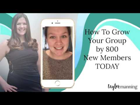 How To Grow Your Facebook Group FAST