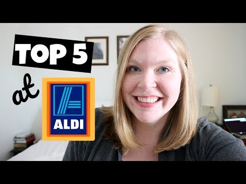My Top Five Favorites at Aldi! | Collab | Blessed Jess