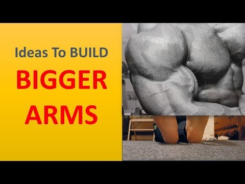Ideas To BUILD BIGGER ARMS.|Have the stretch.