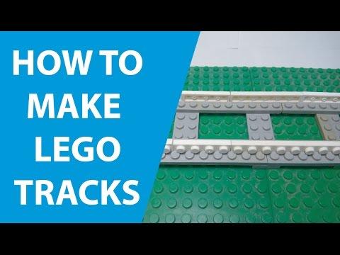 HOW TO MAKE LEGO TRAIN TRACKS!