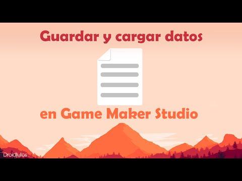 Como Guardar y Cargar datos en Game Maker Studio