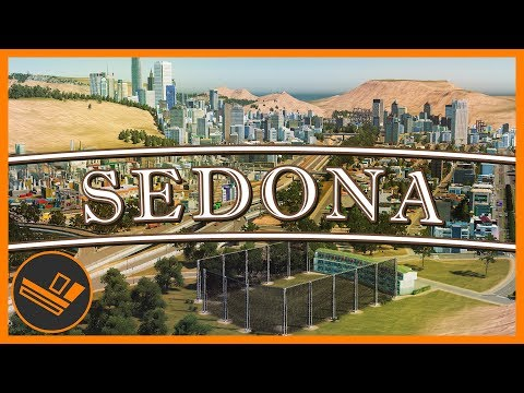 Sedona - Part 85 | MORE RESIDENTS! (Cities: Skylines)