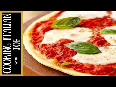 Homemade Pizza Margherita Cooking Italian with Joe