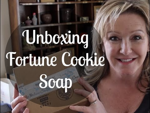 Fortune Cookie Soap—December 2017