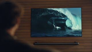 LG OLED AI TV Official TVC: Surfing ver.