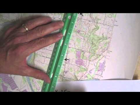 Measuring Distance on a Topographic Map