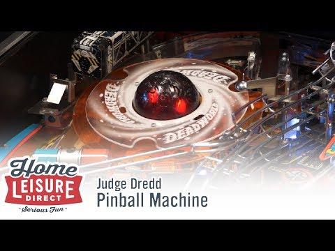 Judge Dredd Pinball Machine (Bally 1993)