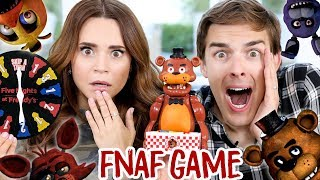 Download TRYING THE FIVE NIGHTS AT FREDDY'S JUMP SCARE GAME ft MatPat! Video