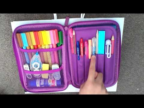 HOW TO REALLY ORGANISE YOUR SMIGGLE PENCIL CASE