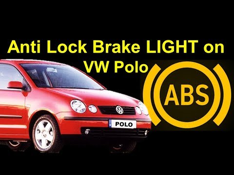VW POLO 9N ABS Light ON Easy Fix